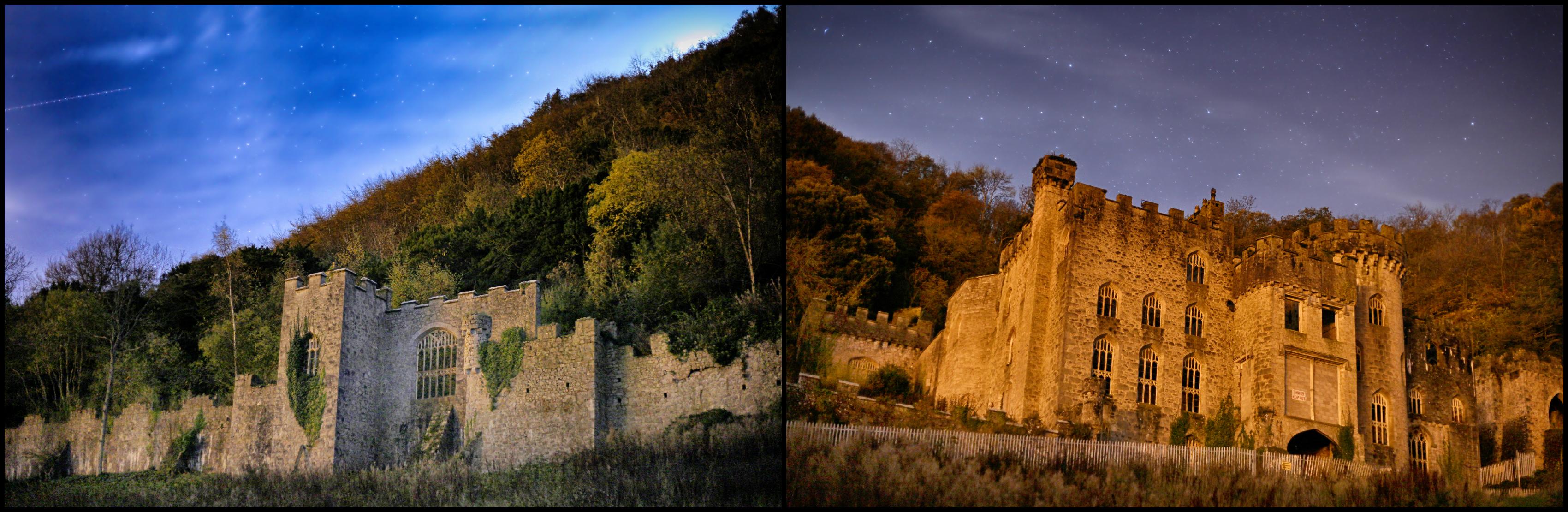 astro time-lapse au château hanté!