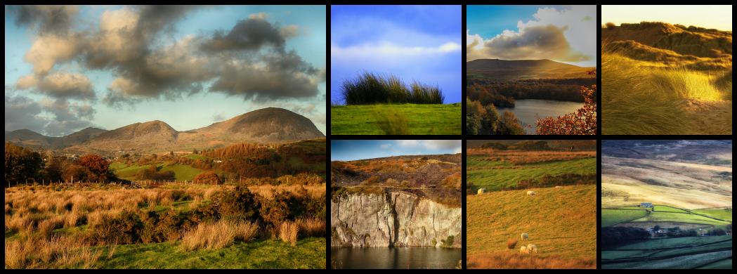 Paysages du Nord du Pays de Galles.
