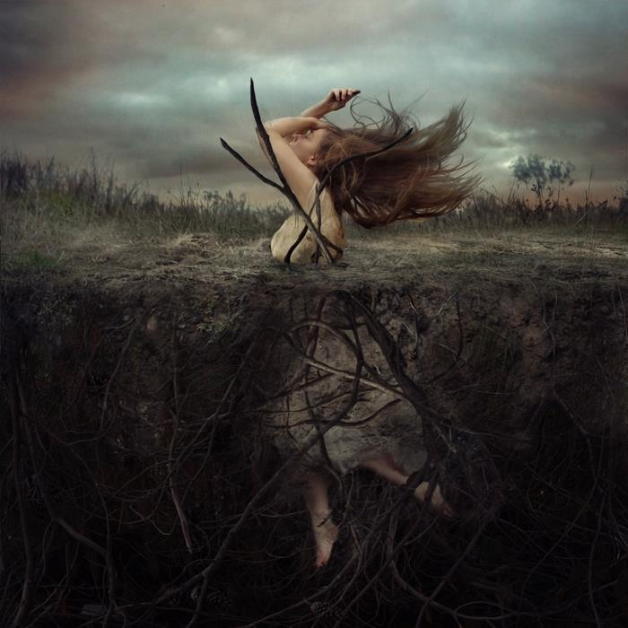 Battle at Cliffside Hill by Brooke Shaden
