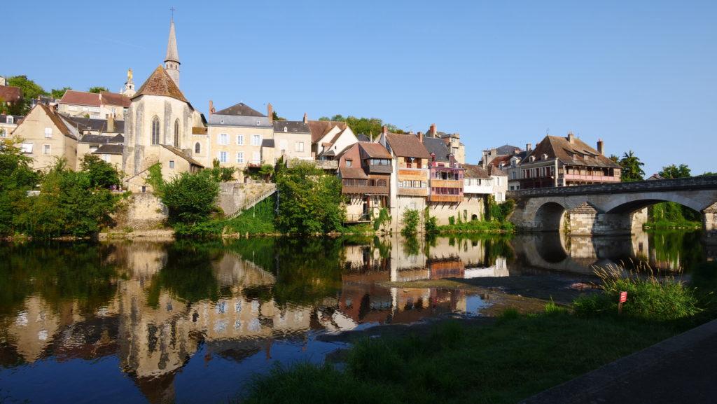 Les bords de la Creuse à Argenton.